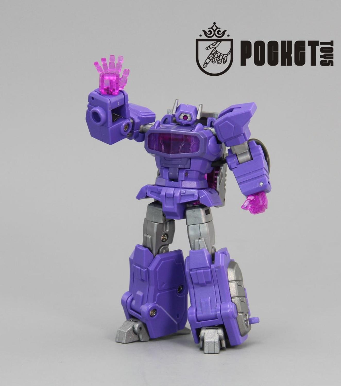 In Stock Lensple PT Transformation Shockwave PT03 PT-03G1 Mini Pocket War KO DX9 Action Figure Robot Toys For Gift