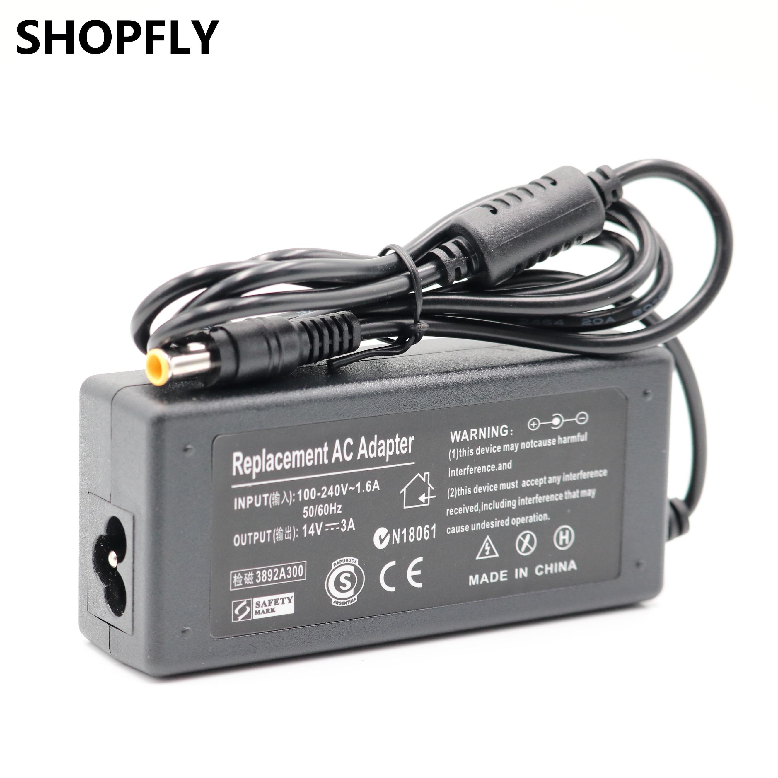 Adaptador de corriente CA para Samsung S22D300HY S22D300 S22C570H Monitor, 14V, 3A,...