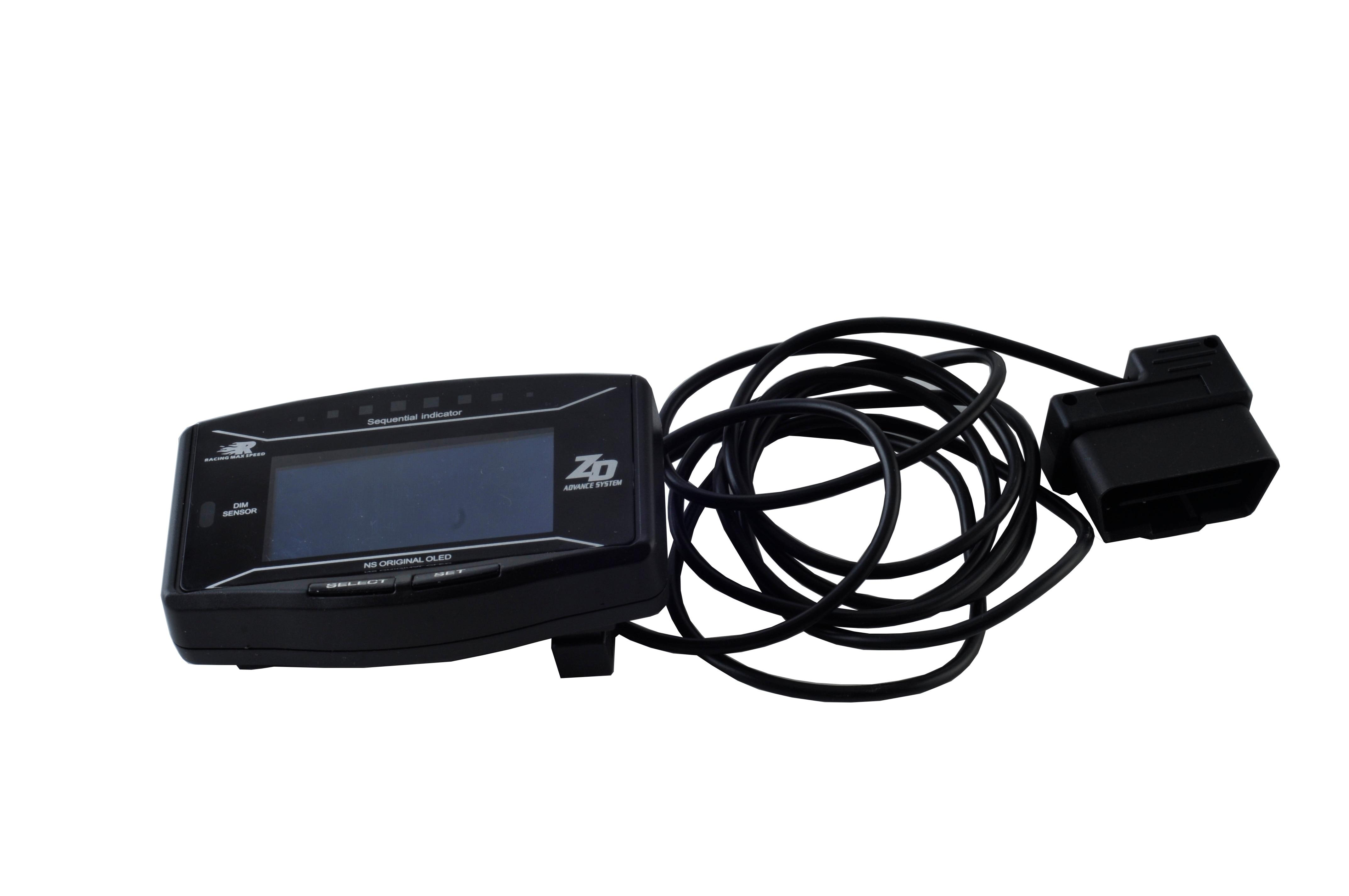 OBD2 Advance ZD 10 in1 Defi style link автоматический датчик цифровой тахометр температура воды ODO часы Trip Defi измеритель