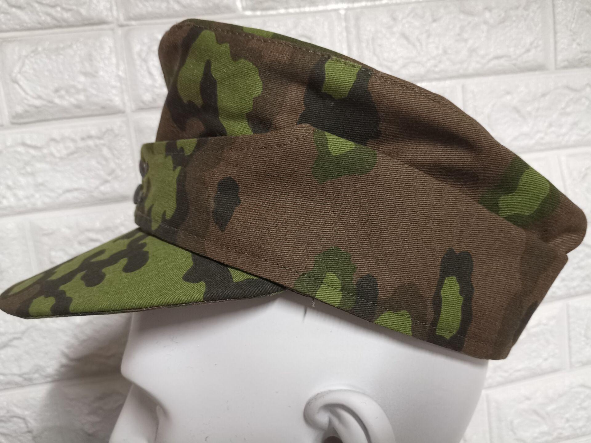 WW2 E.M.D الألمانية. M43 قبعة. التمويه