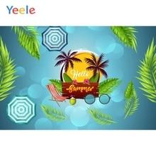 Sesión fotográfica de fiesta de verano Yeele cocoteros Letup fondos de fotografía fondos fotográficos personalizados para estudio fotográfico