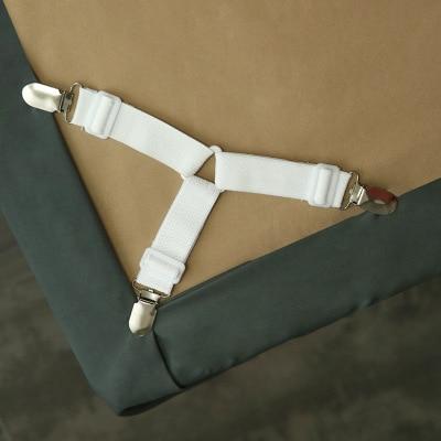 غطاء سرير القابضون مطاطا إبزيم حزام غطاء سرير كليب غطاء مرتبة حامل البطانيات المنسوجات المنزلية تنظيم الأدوات