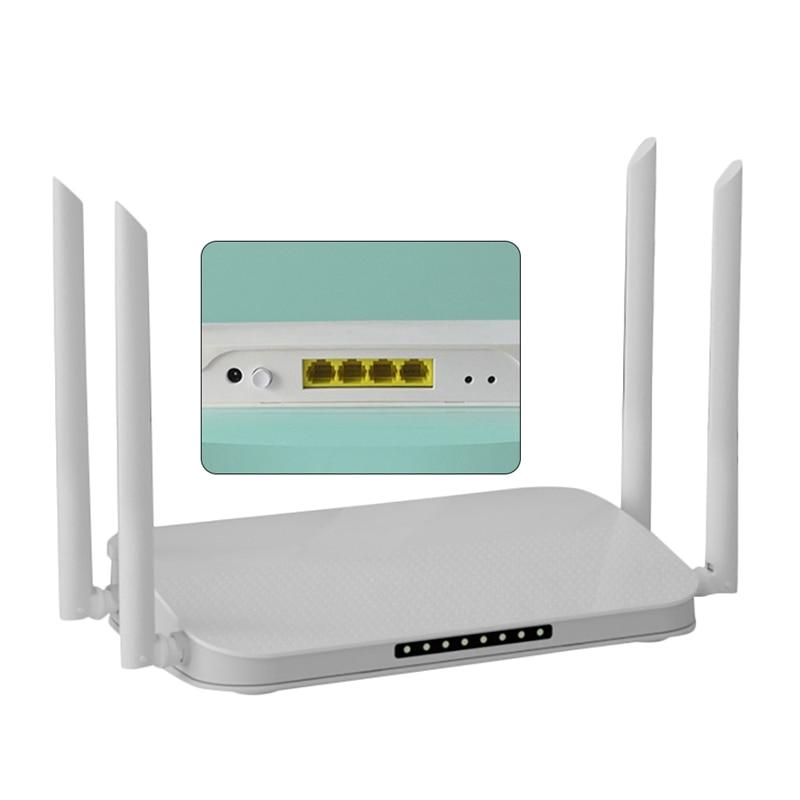 wifi6 roteador wi fi sem fio 4 nucleos 1800mbps porta gigabit controle de parede alta potencia