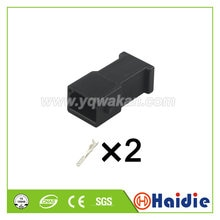 Free shipping 5sets 2pin VW 3.5mm auto car cable plug wire harness connectors 893 971 992 893971992