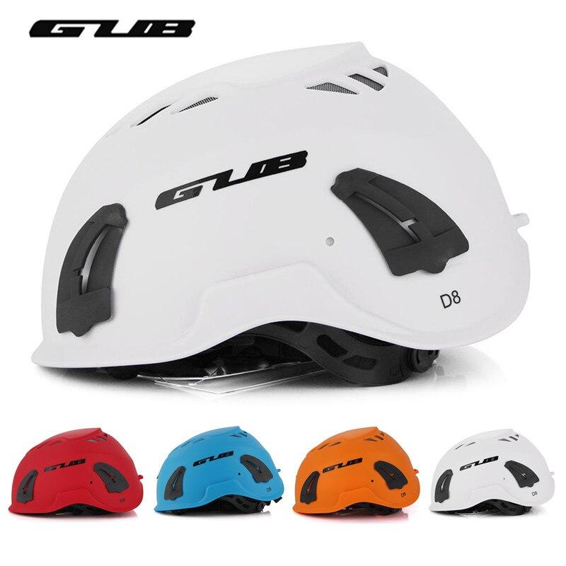 Gub d8 mtb bicicleta capacete multi-funcional montanha de escalada esportes ciclismo capacete de segurança cavalo integralmente moldado