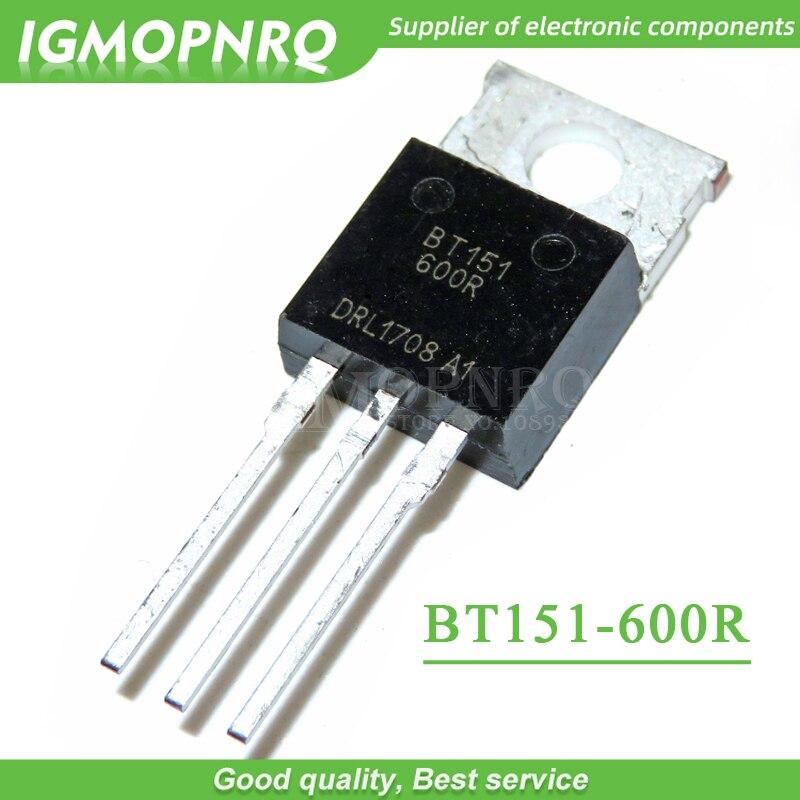 5 uds BT151-600R BT151 BT151-600 Triacs carril TRIAC a-220 original nuevo