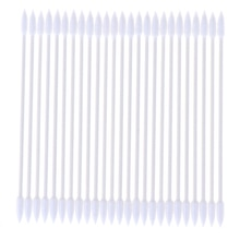 25pcs/bag Double Head Cotton Swab Soft Cotton Buds cleaning of ears Tampons Microbrush Cotonete pamp