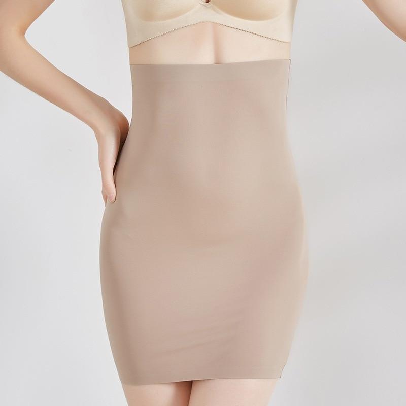 Mujeres Body Shaper bButt Lifter Shapewear inconsútil Shaping Control Panties falda cintura Trainer adelgazamiento panza ropa interior