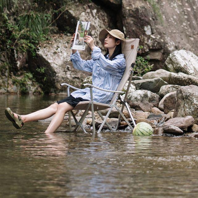 Fishing Chair Portable Camping Chair Folding Chair NH Relax Chair Beach Chair Outdoor Picnic Chair Travel Camp Chair enlarge