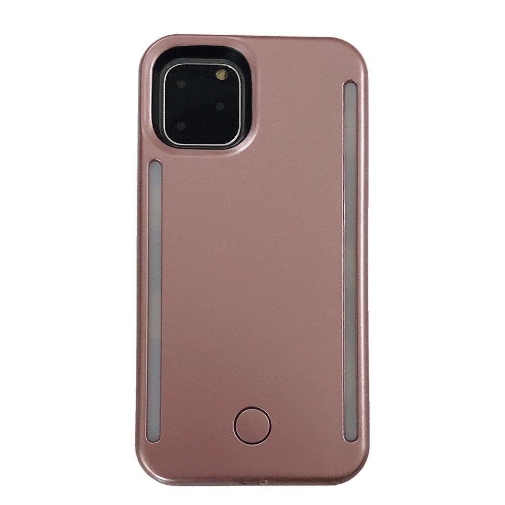 Dla iphone 11 Pro Max anti-fall 3 pokoleń Light Up lampa błyskowa do selfie etui na telefon the flash obudowa ochronna torba dla iphone 11 Pro
