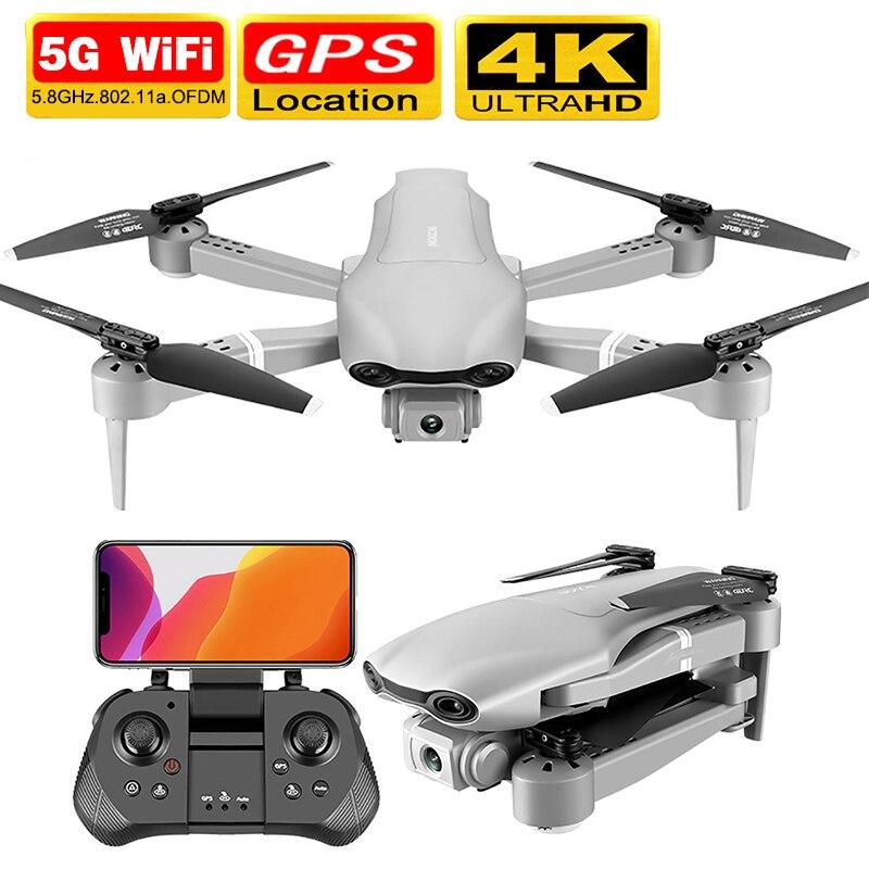 Dron F3 con GPS, 4K, 5G, WiFi, vídeo en vivo, FPV, quadrotor de vuelo, 25 minutos, rc, distancia, Dron HD de 2020 m, cámara dual de gran angular, 500 nuevo
