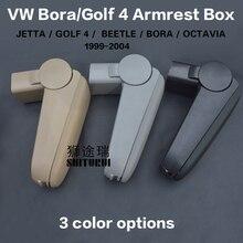 Pour 1999 -- 2004 V.W JET.TA/BORA/golf MK4 IV, accessoires de voiture pièces dauto accoudoir central Console boîte repose-bras conducteur