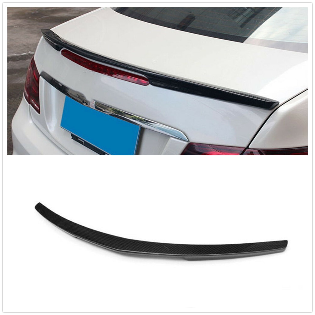 Carbon Fiber Rear Wing Lip for 2010 2011 2012 2013 2014 2015 2016 MB W207 C207 2Door Coupe E350 E550 A