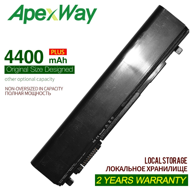 4400mAh 6cells Laptop Battery For Toshiba Portege R630 R840 R700 R830 R835 PA3833U-1BRS PA3929U-1BRS PA3831U-1BRS PA3832U-1BRS