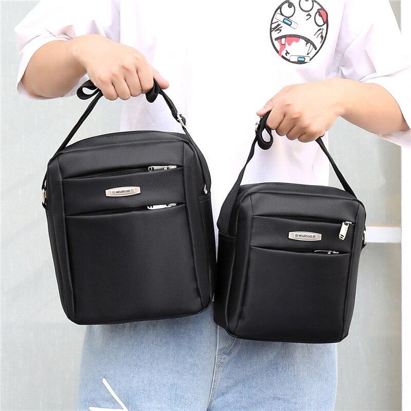 Bolso de hombro para hombre bolso de hombro de tela Oxford bolso de hombro Casual para hombre Bolso pequeño bolso de lona de estilo coreano