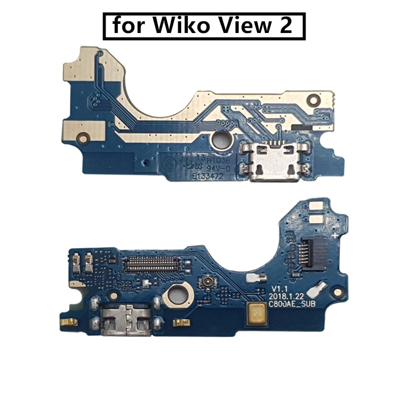 for Wiko View 2 USB Charger Port Dock Connector PCB Board Ribbon Flex Cable phone screen repair spar
