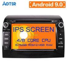 Android 9,0 4 + 64GB Auto Radio DVD Player GPS Multimedia Stereo Für Fiat Ducato 2008-2015 Citroen jumper Peugeot Boxer Video Navi
