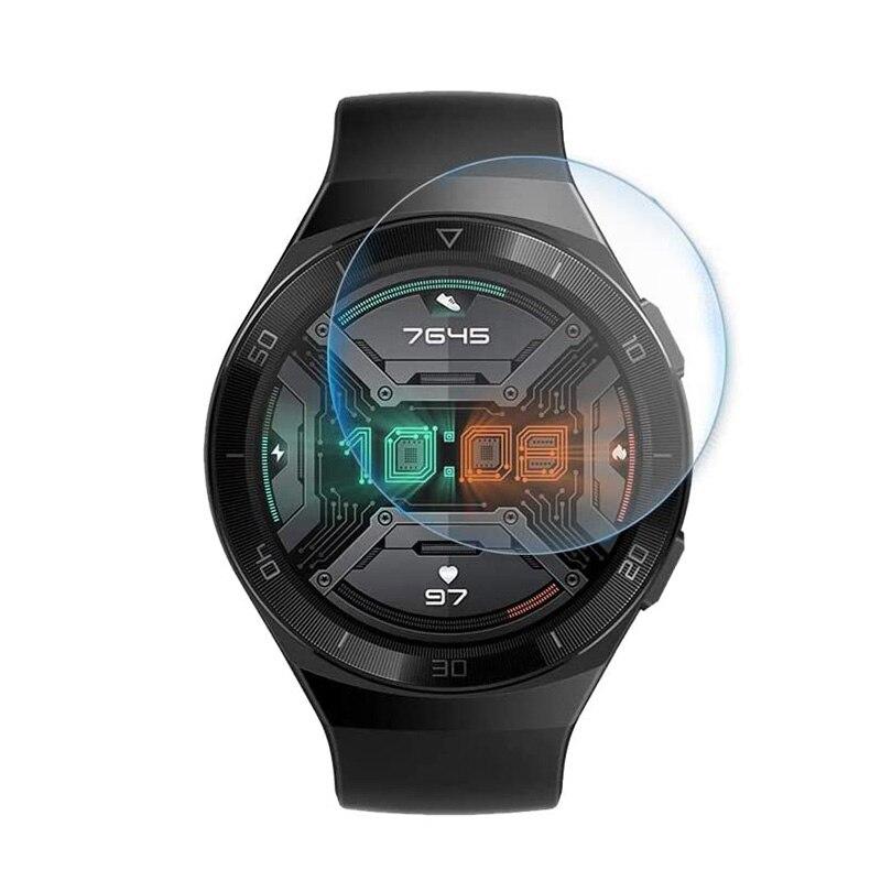 HD Прозрачная пленка из закаленного стекла, спортивные Смарт-часы, Защита экрана для Huawei, умные часы GT2e, умные часы, аксессуары