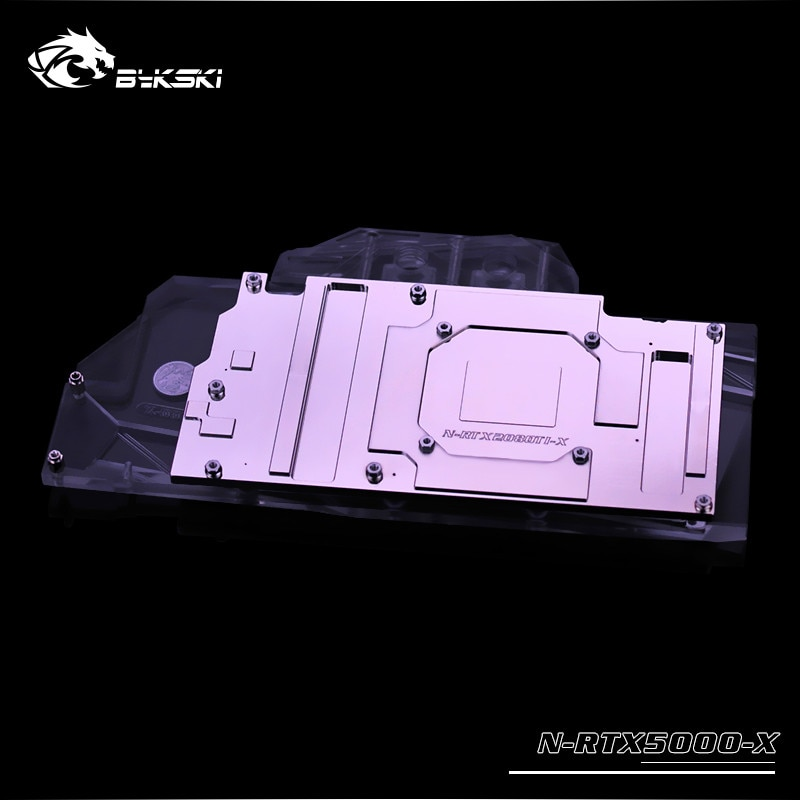 Bykski N-RTX5000-X NVIDIA RTX5000/8000 GPU, Leadtek Quadro MOBO AURA SYNC