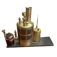 vertical steam boiler for steam engine ship model