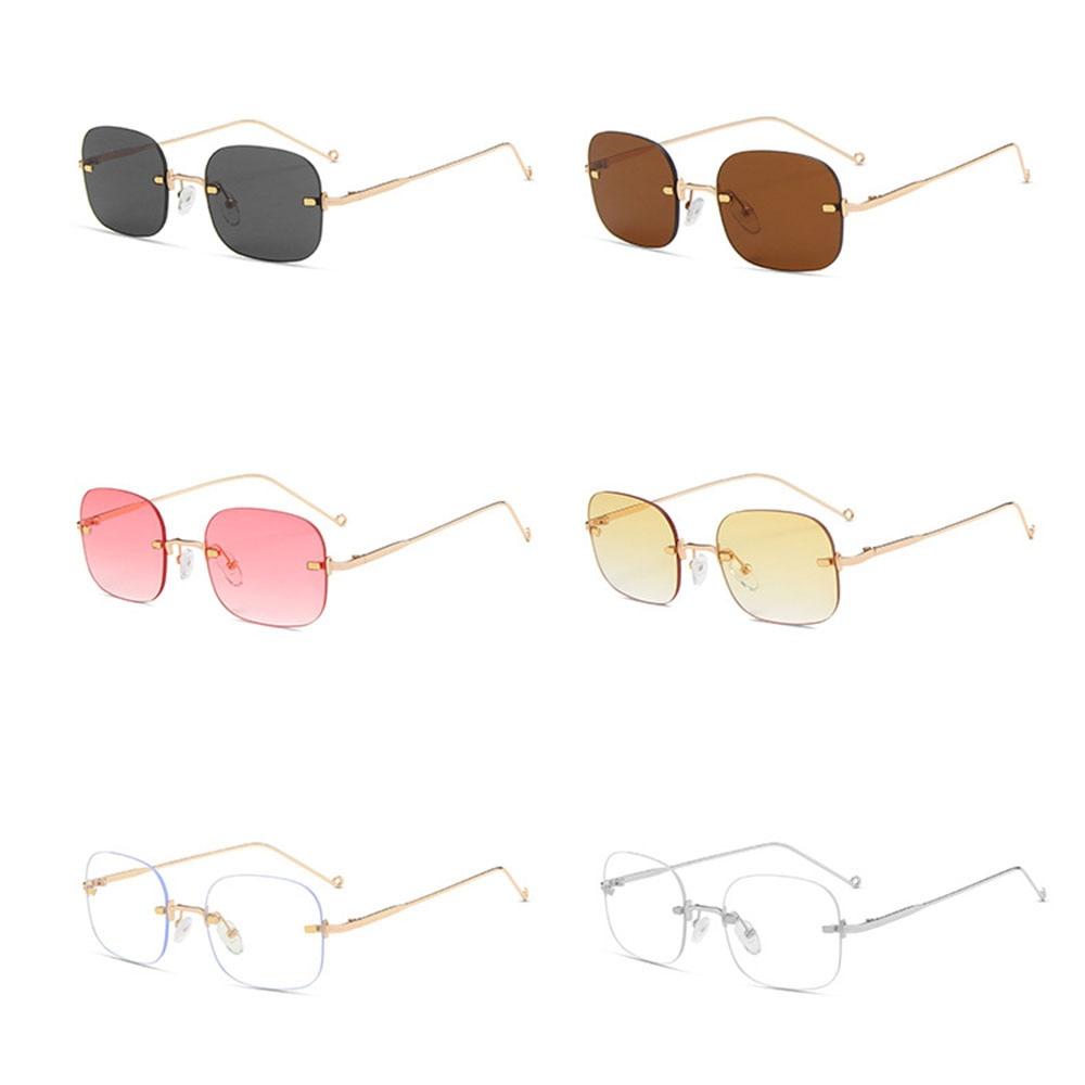 New Retro Women&men Eyeglasses Blue Light Blocking Computer Glasses Metal Plain Mirror Spectacle Hig