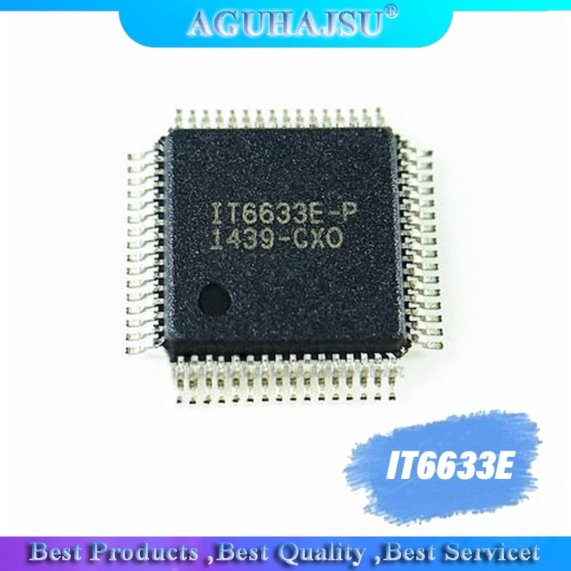 1pcs IT6633E IT6633E-p new LCD chip  in stock can pay QFP-64