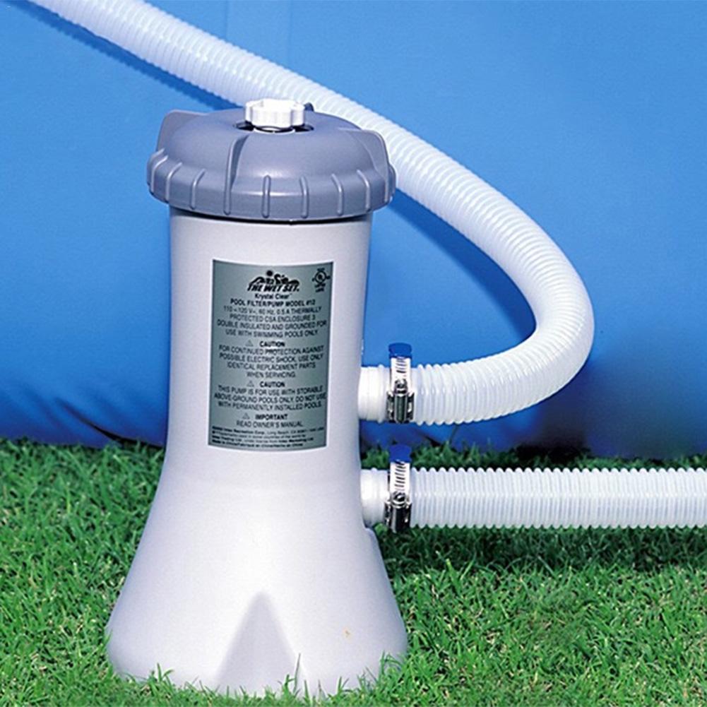 Filtro de bomba de piscina INTEX 28604/58604 para limpieza de agua para piscina de verano 40P