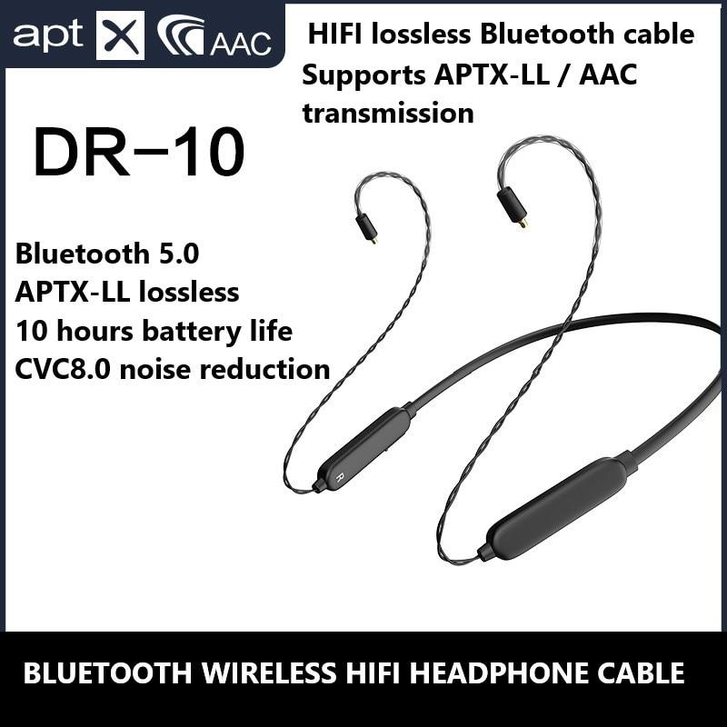 Aptx AAc Bluetooth 5,0 HIFI кабель для наушников Mmcx 0,78 IE80 IM50 IE40 PRO A2DC без потерь Upgrate кабель для Sennheiser Shure ATH