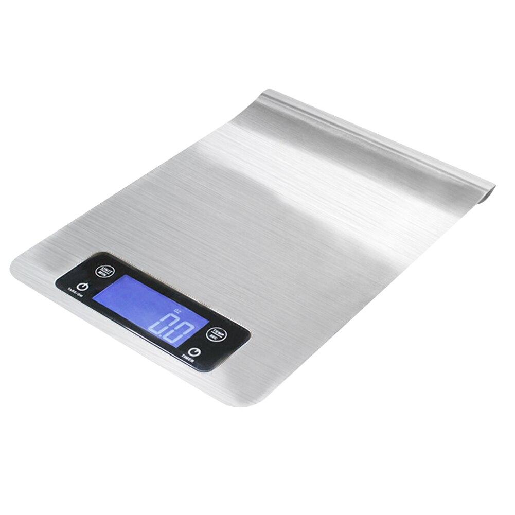 Báscula Digital para cocina, 5kg/1g, diseño de gancho de acero inoxidable ultrafino, pantalla LCD retroiluminada, balanza para alimentos, 245x17x19mm, TB, en venta