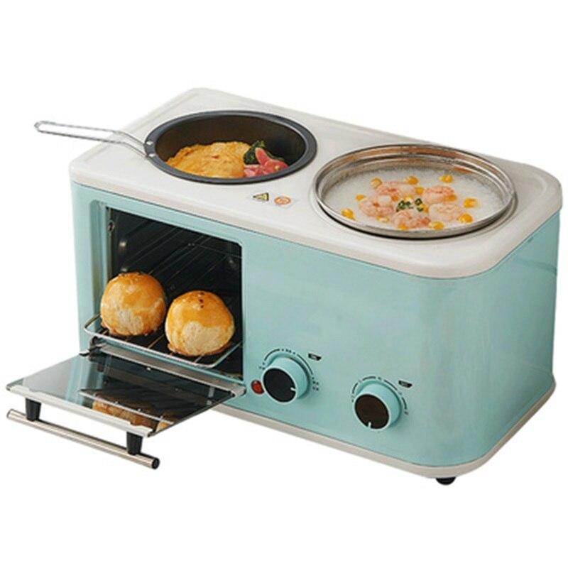 Desayuno electrica 3 en 1 para el hogar Mini tostadora de Pan...