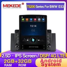 Android 2G + 32G IPS DSP автомобильный dvd GPS навигация для bmw e53 E39 X5 WIFI BT Радио USB рулевое колесо управления Canbus E53