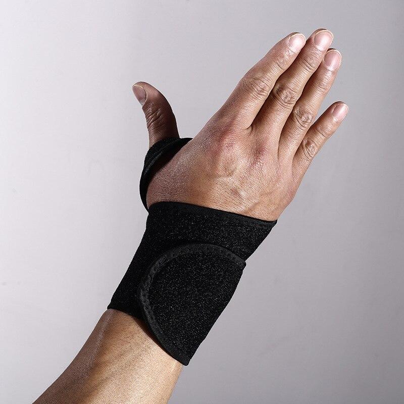 Pulseira ajustável compressão cinta de pulso envoltório bandagem ginásio apoio artrite mão cinta protetor