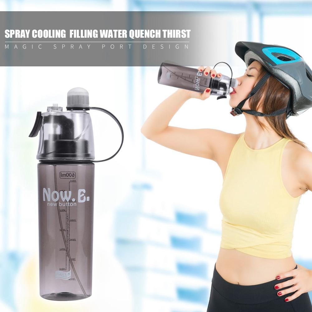 Portátil 600 ml ao ar livre ciclismo acampamento leakproof multi-funcional garrafa de água garrafa de água potável doméstico suprimentos de cozinha
