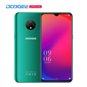 DOOGEE X95 мобильных телефонов 6,52 ''MTK6737 16 Гб Встроенная память Dual SIM 13MP тройной Камера 4350 мА/ч, смартфоны мобильный телефон Android 10 OS 4G-LTE