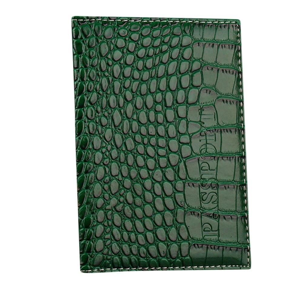 Cubierta de pasaporte de viaje para mujeres y hombres pasaporte Simple funda para tarjeta de identificación soporte de cuero PU pasaporte cartera sostenedor del pasaporte # G2
