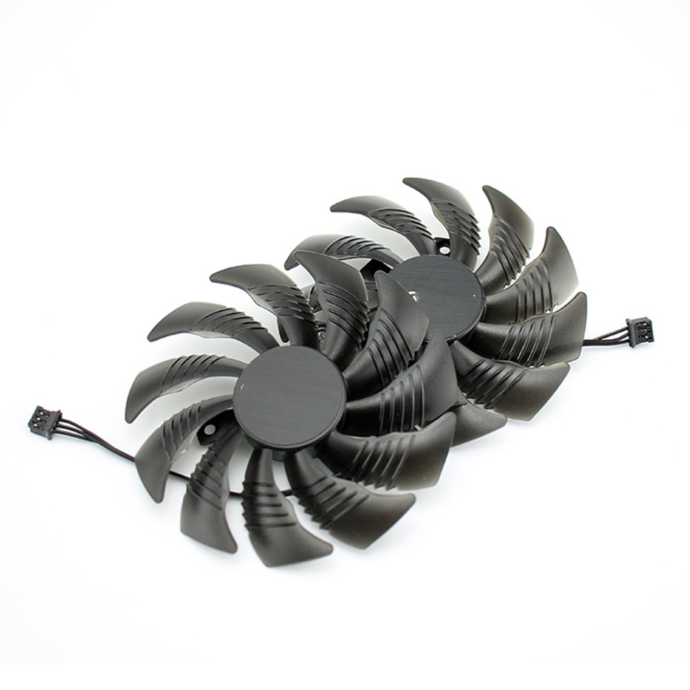 T129215SU 88MM PLD09210S12HH Replace For Gigabyte Geforce GTX 1050 Ti fan For AMD RX550 RX 560 Fan Mini ITX G1 Radeon Gaming Fan enlarge
