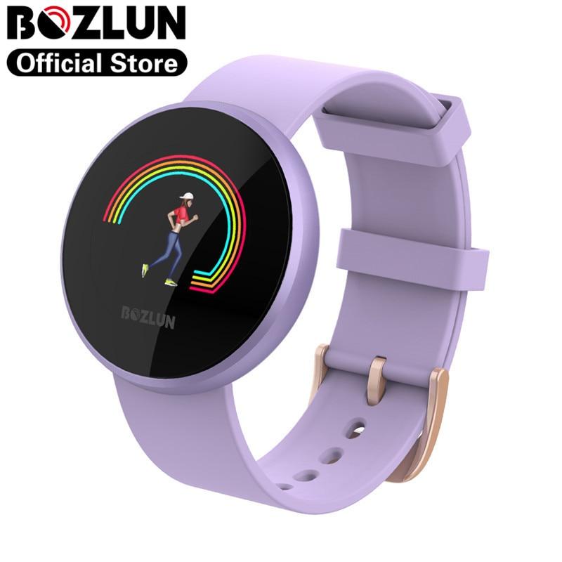 Reloj inteligente Bozlun B36 para mujer, Monitor de ritmo cardíaco, pulsera inteligente para Xiaomi, iPhone, Samsung, Huawei, teléfono femenino, Reloj inteligente