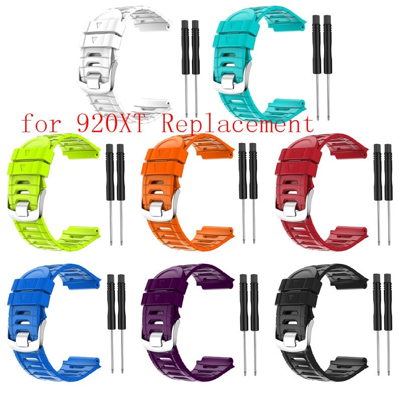 Silicone Watch Band for Forerunner 920XT Colorful Quick Release Replacement Wristband Training Sport Bracelet
