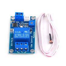 XH-M131 DC 5V/12V Photoresistor Relay Module 10A Light Control Switch Board