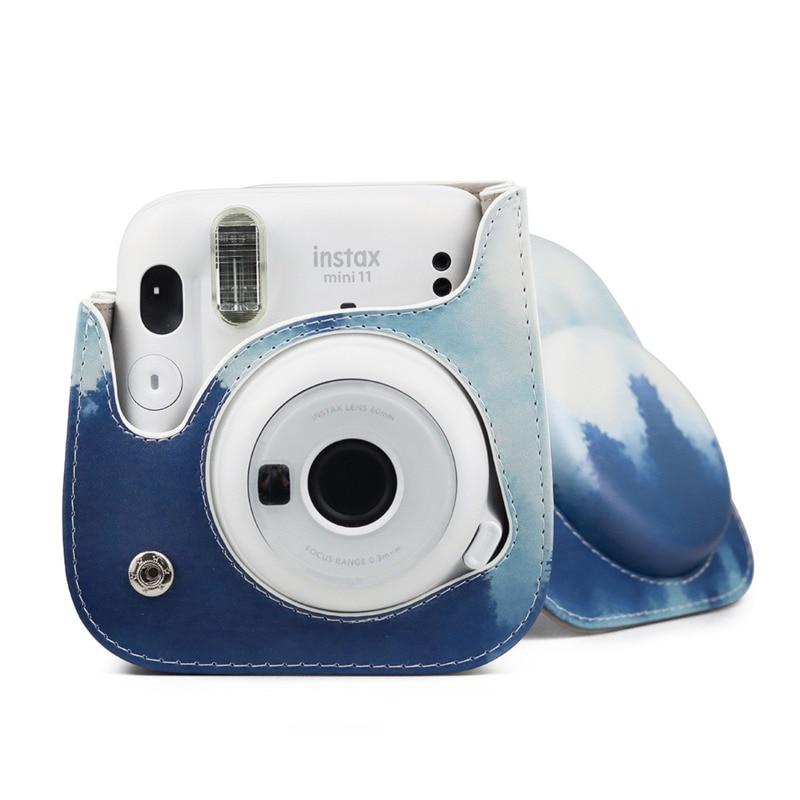 Bolso de hombro Retro anticaída para cámara Fujifilm Instax Polaroid Mini 11...