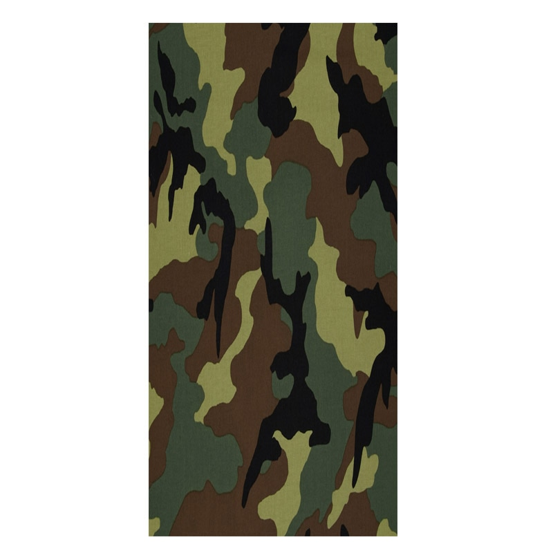 Green Khaki Camouflage Camo Body Beach Towels for Men Army Military Woodland Hunting Gym Sport Towel