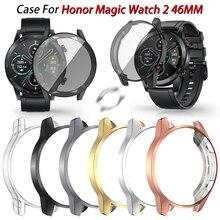 Custodia protettiva per Huawei Honor Magic Watch 2 paraurti in TPU 46MM con protezione dello schermo completa accessori Smartwatch