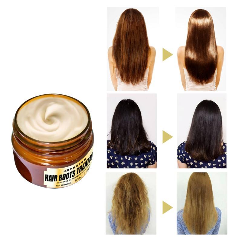 Máscara mágica do tratamento do cabelo 5 segundos reparos danos restaurar o cabelo macio duradouro hidratante nutrir profundamente cuidados com o cabelo quente tslm1