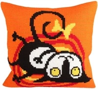 latch hook cushion kits ball pillows wedding animal cat home decoration pillow case kits for embroidery unfinished