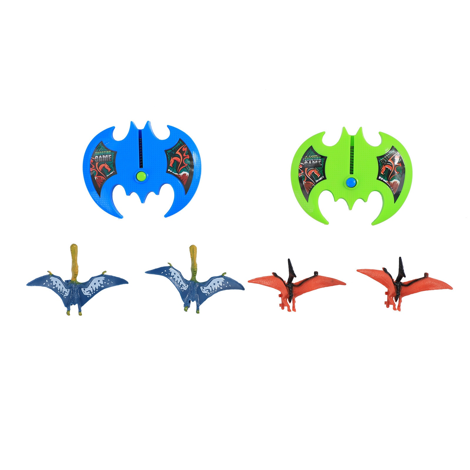 Children's Foam Catapult Airplane Toy Dinosaur Pull Back Outdoor Fighter Model Non-toxic Colored Animal Vehicles Toys #10