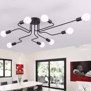 LED Lamp Study Chandelier Novel Creative Chandelier 8 Lamp Chandelier Study Bedroom Decoration Lighting