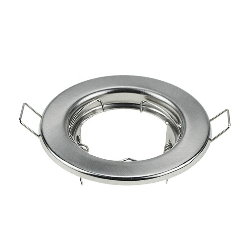 Free Shipping Superior quality recessed cob gimbal round stretchable spotlight fixture for GU10 MR16 GU5.3  etc enlarge