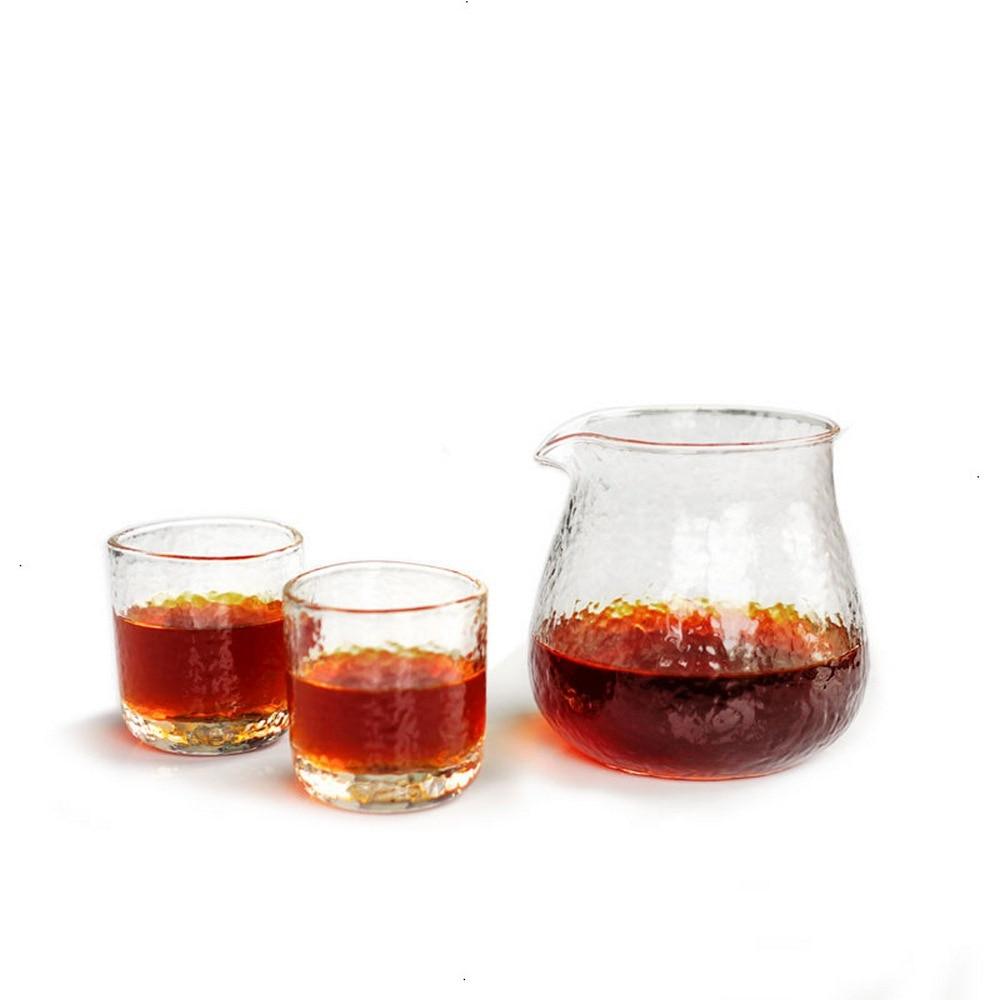 طقم فناجين قهوة زجاجية عالية الحرارة, طقم فناجين قهوة زجاجية 400 مللي ، إبريق زجاجي للقهوة والشاي والحليب ، كوب تخمير يدوي للمنزل ، لوازم المطب...