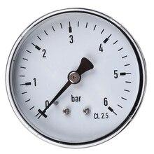 Ts-60-6Bar 0-6Bar Mini manomètre haute précision 1/4 Npt testeur de pression à montage par filetage pour eau liquide de mazout