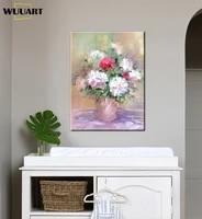 beautiful flowers for home decorations 100 handmade abstract canvas oil paintings wall art pictures for living room no framed